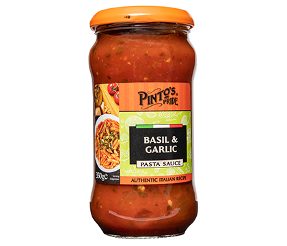 Basil & Garlic Pasta Sauce
