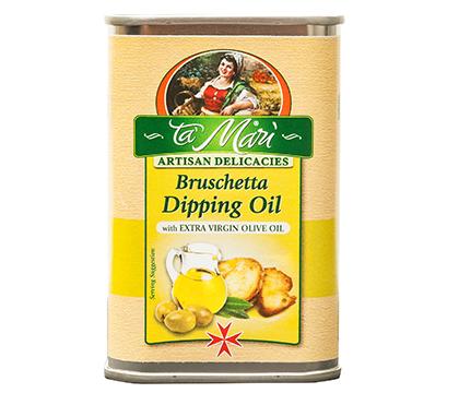 Brushetta Dipping Oil with Extra Virgin Olive Oil