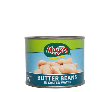 Butter Beans in Salted Water