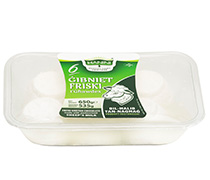 6 Gibniet Friski t'Ghawdex bil-Halib tan-Naghag (Fresh Cheeselets Sheep)