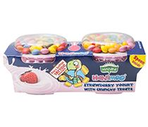 Hanimoo Strawberry Yogurt with Chocolate Buttons