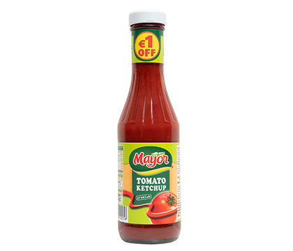 Tomato Ketchup in Glass
