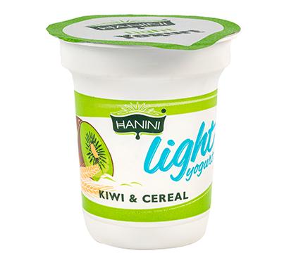 Light Yogurt Kiwi and Cereal