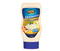 Mayonnaise Top Down