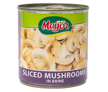 Sliced Mushrooms in Brine
