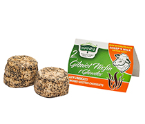2 Gibniet Nixfin t'Ghawdex Affumikati bil-Halib tan-Naghag (Smoked Sheep Cheeselets)