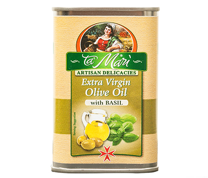 Extra Virgin Olive Oil with Basil