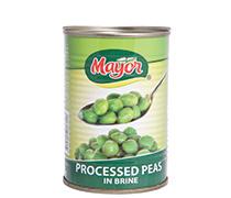 Processed Peas in Brine
