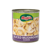 Sliced Mushrooms in Brine