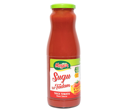 Thick Tomato Base Sauce