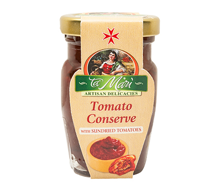 Tomato Conserve with Sundried Tomatoes