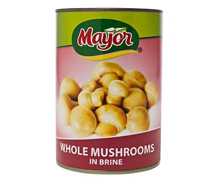 Whole Mushrooms in Brine