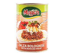 Zalza Bolognese with Minced Meat