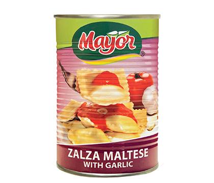 Zalza Maltese with Garlic