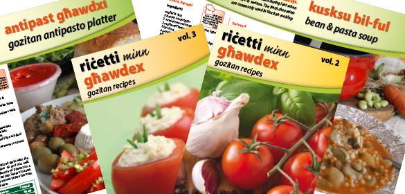 Gozitan Recipe Books to Download