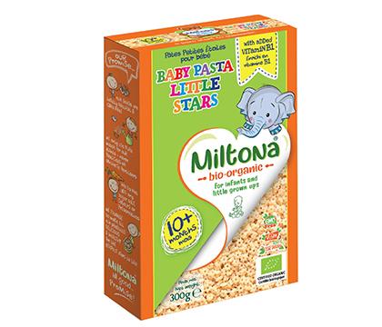 Organic Baby Pasta Little Stars 10+