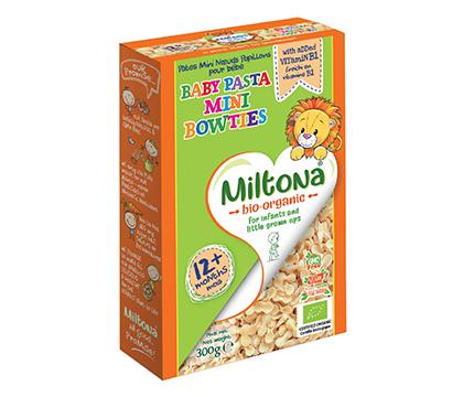 Organic Baby Pasta Mini Bowties 12+
