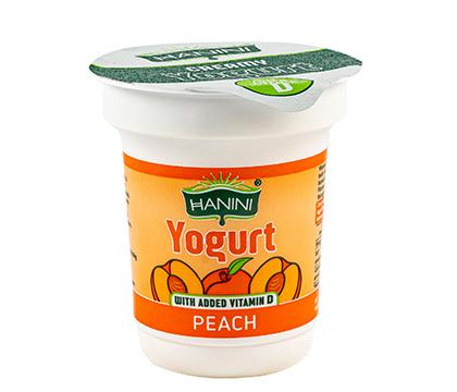 Peach Yogurt with added Vitamin D