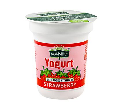 Strawberry Yogurt with added Vitamin D